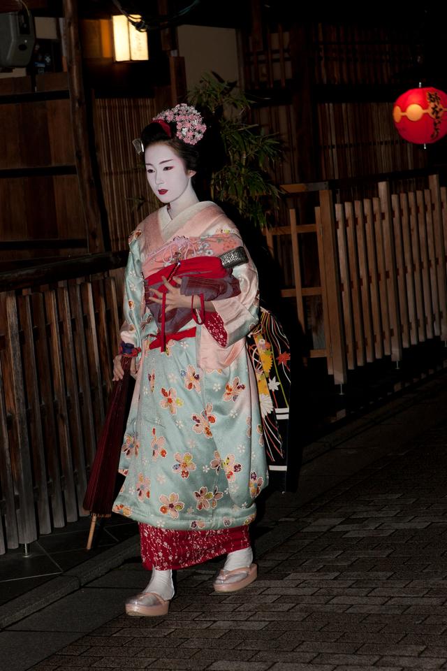 Kyoto jeune geisha 40x60